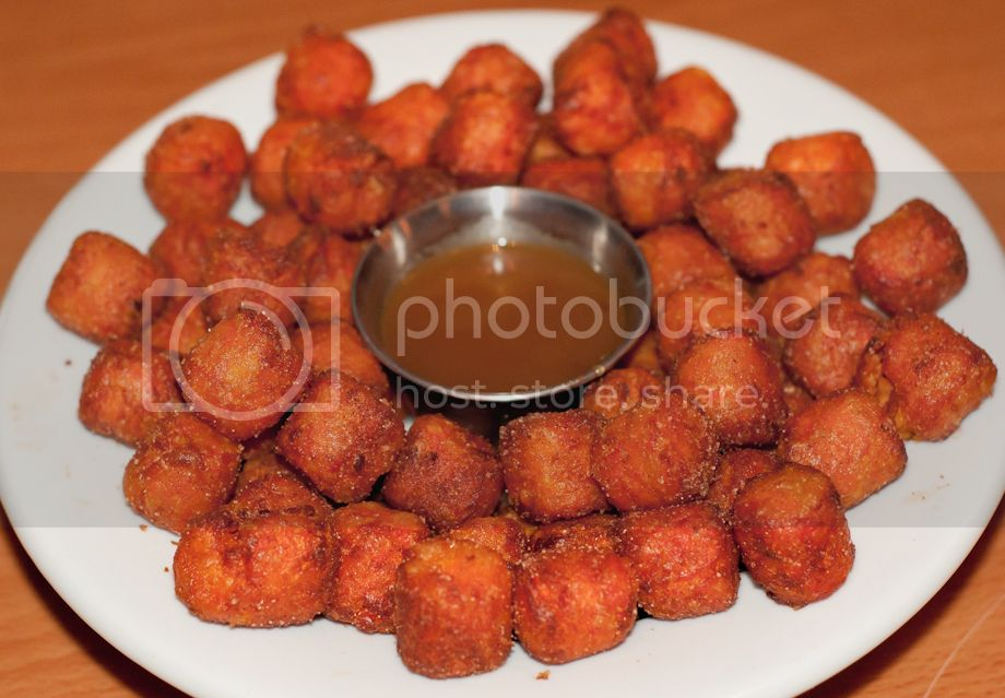 sweet potato poppers